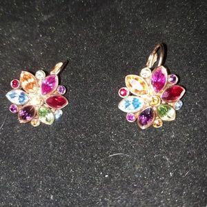 Jewelry - Vintage Multi-colored Earrings